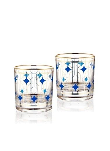 The Mia Viski Bardağı 2Li Set 300 Cc Renkli